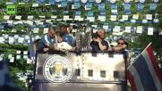 Leicester City Parades in Bangkok to Celebrate EPL Win