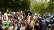 France: Riotous scenes as leftists challenge govt on Bastille Day