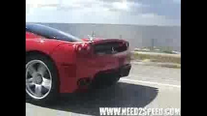Ferari Vs Camaro I Mustang