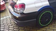 Subaru Impreza Sti Turbo в центъра на София !!!