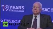 """Маккейн: """"Беше грешка да не се интегрира Украйна по-рано."""""""