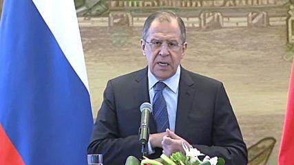 China: Lavrov and Wang Yi talk Putin's visit, Iran and South China Sea