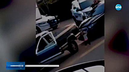 Кадри с 2-годишно дете по време на арест взривиха социалните мрежи