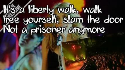 Miley Cyrus-liberty Walk