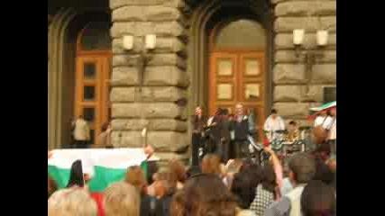 Учителската Стачка - София, 05.10.2007