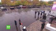 Всички чакат Путин! - Церемония - Отбелязване края на 2-та Световна война - Париж 11.11.2018