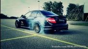 Mercedes C63 Amg Sound V8 6.2l - немски звяр !
