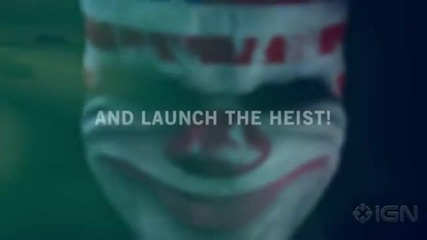 Payday - The Heist {official Trailer}