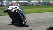 Bmw Stuntshow Drift Bei Кралят На Германия - 1 4 Meile Alkersleben