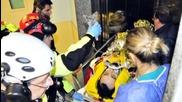 Първи снимки на Кубица след тежката катастрофа.