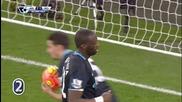 Голът на Яя Туре за 1:2 срещу Арсенал
