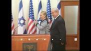 Хилари Клинтън се срещна с Нетаняху и подкрепи правото на Израел на самозащита