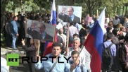 Syria: Pro-government rally in Damascus shelled near Russian Embassy