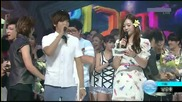 Shinee wins Mutizen award again on Inkigayo (15.08.10)