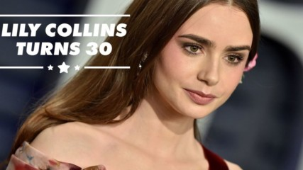 Lily Collins is super fancy & you didn't even know it