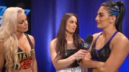 ЕКСКЛУЗИВНО от WWE: Счупено ли е доверието между Соня Девил и Манди Роуз?