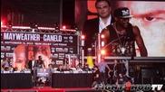 F. Mayweather vs C. Alvarez - Full Los Angeles press conference ( 04.07.2013 )