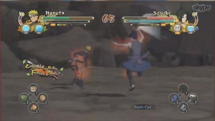 Naruto Shippuden Ultimate Ninja Storm 3 Full Burst - Sasuke Vs Naruto