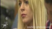 Lindsay Lohan е нахапана от Питбул