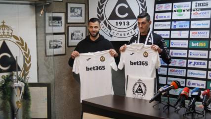Славия представи двамата нови футболисти