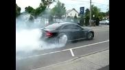 Mercedes Benz Clk63 Black Series Burnout