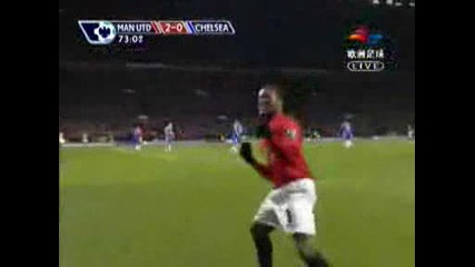 Manchester United /3:0/ Chelsea - Rooney 2:0