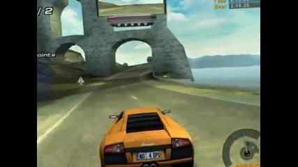 Nfs Hp2 - Lamborghini Murcielago vs Ferrari F50 [hd]