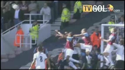 2010 - 09 - 25 West Ham - Tottenham 1 - 0