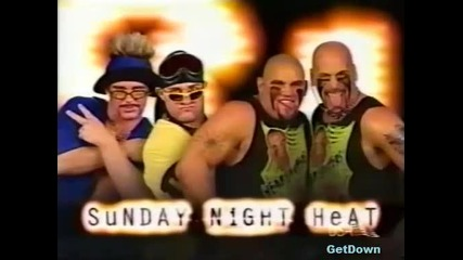 Too Cool vs. The Headbangers - Wwf Heat 26.12.1999