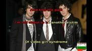 Jonas Brothers - Video Girl - Karaoke