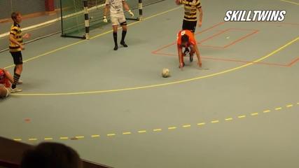 Младите футболни таланти на Швеция - Josef & Jakob El-zein