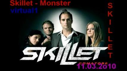 Мега Песен!! Skillet - Monster