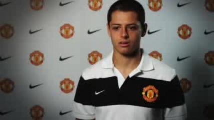 Официалната фланелка на Ман Юнайтед за сезон 2011/2012