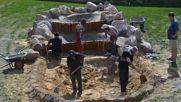 Ето как можете да превърнете вашия двор в едно чудесно място за отдих с фонтан и водопад!