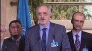 Switzerland: Jaafari accuses Israel of cooperating with 'terrorist groups' in Golan Heights