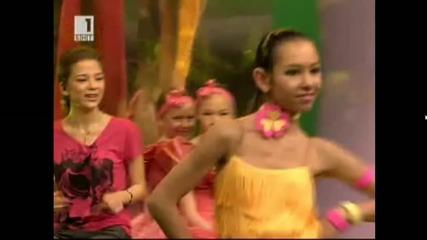 Мони танцува в предаването Яко по Бнт