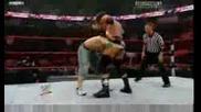 Raw 06/07/09 - John Cena vs. Triple H 2/2