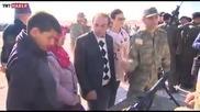 Турската армия провежда военни учения до границата със Сирия