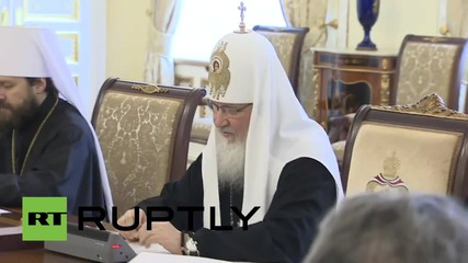 Russia: Patriarch Kirill meets with Greek PM Tsipras