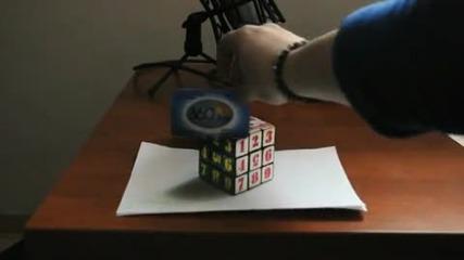 3d Илюзия - Кубчето на Рубик