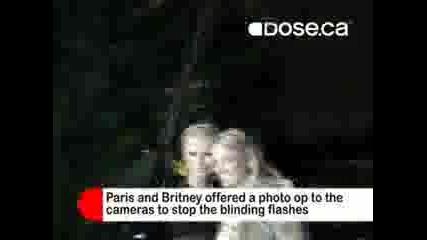 Бритни И Парис В Денс Клуб