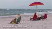 Плажът на Сарасота, Флорида 29.8.2014