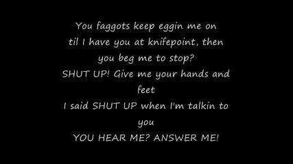 Eminem Kill You (lyrics)