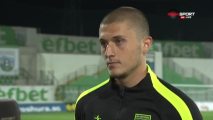 Василев: Мачът бе за равен, ала Камбуров...
