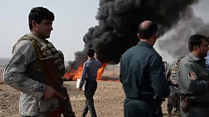 Afghanistan: 20 TONNES of drugs go up in smoke in Nangarhar