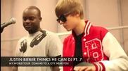 Justin Bieber Thinks He Can Dj