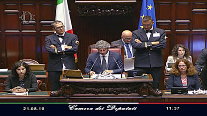 Italy: Conte's resignation letter read at Chamber of Deputies