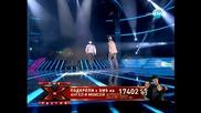 Ангел и Моисей - Черно море (x - Factor България)