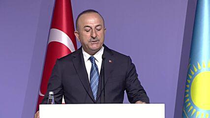 Turkey: FM Cavusoglu calls for international cooperation on Afghan migrants 'burden'