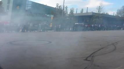 Мото каскади на Панаира в Пловдив!